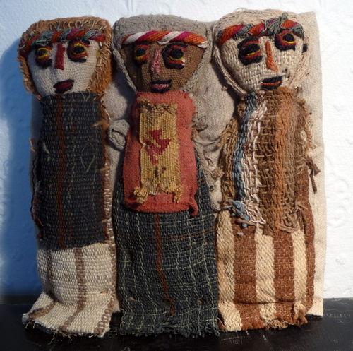 Peru doll trio